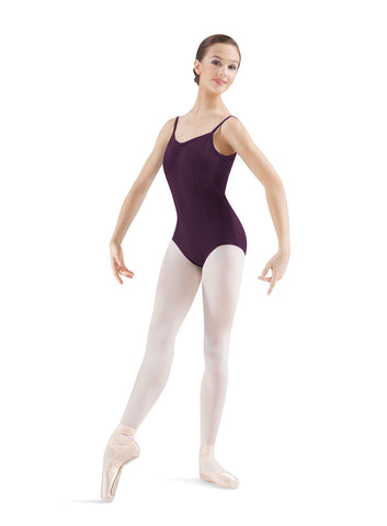 Adult Pinched Seamed Leotard (Blackberry) - Dancer's Wardrobe