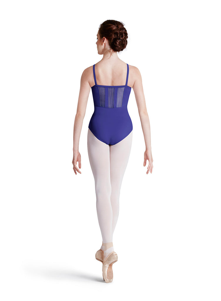 Zealous Zebra Leotard, Jr (Purple)(Child) - Dancer's Wardrobe