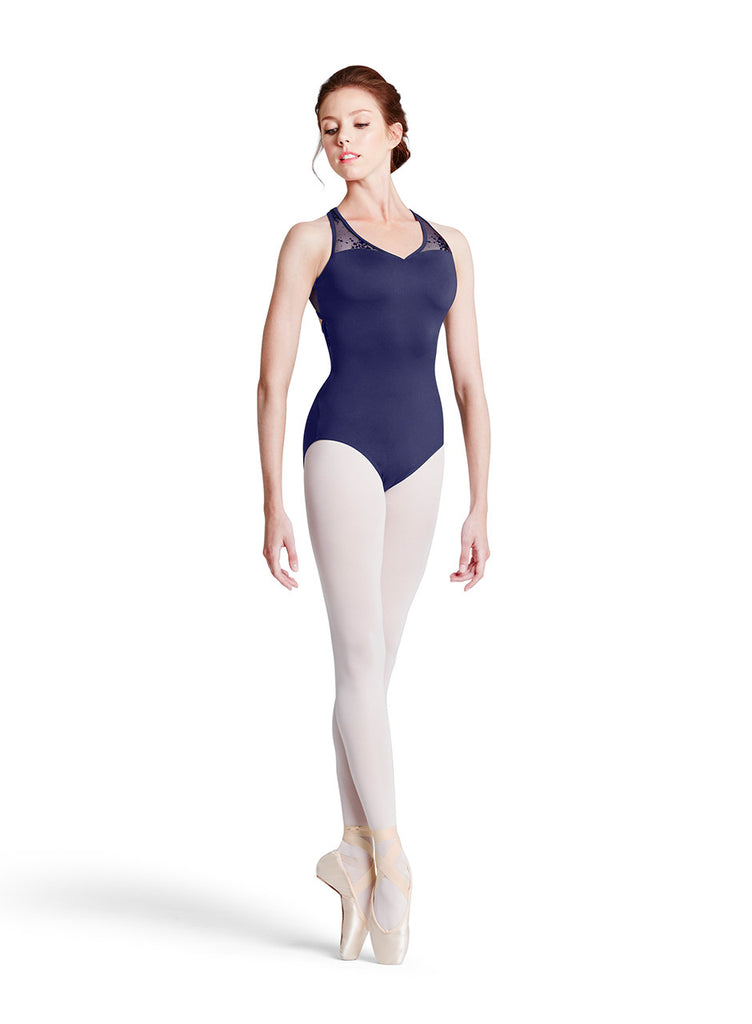 HIbiscus Leotard - Dancer's Wardrobe