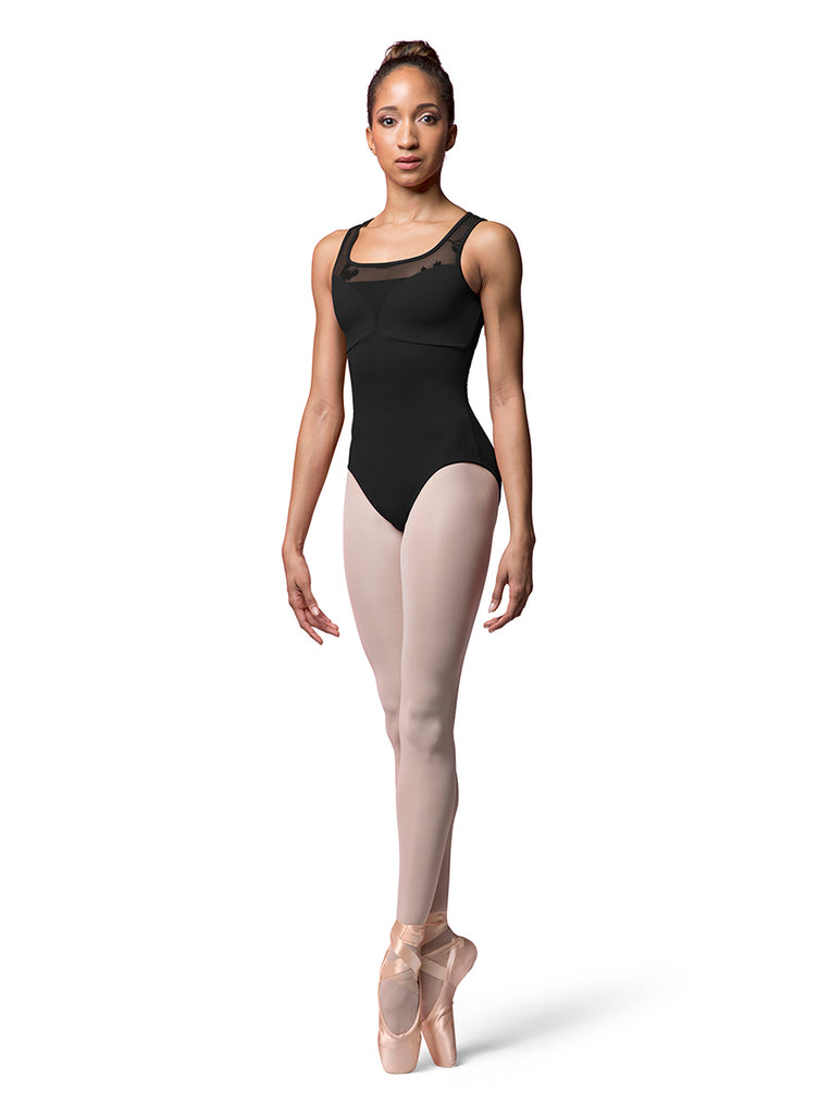 Sweetheart Tank Leotard - Black (Adult, Teen & Tween Sizes)