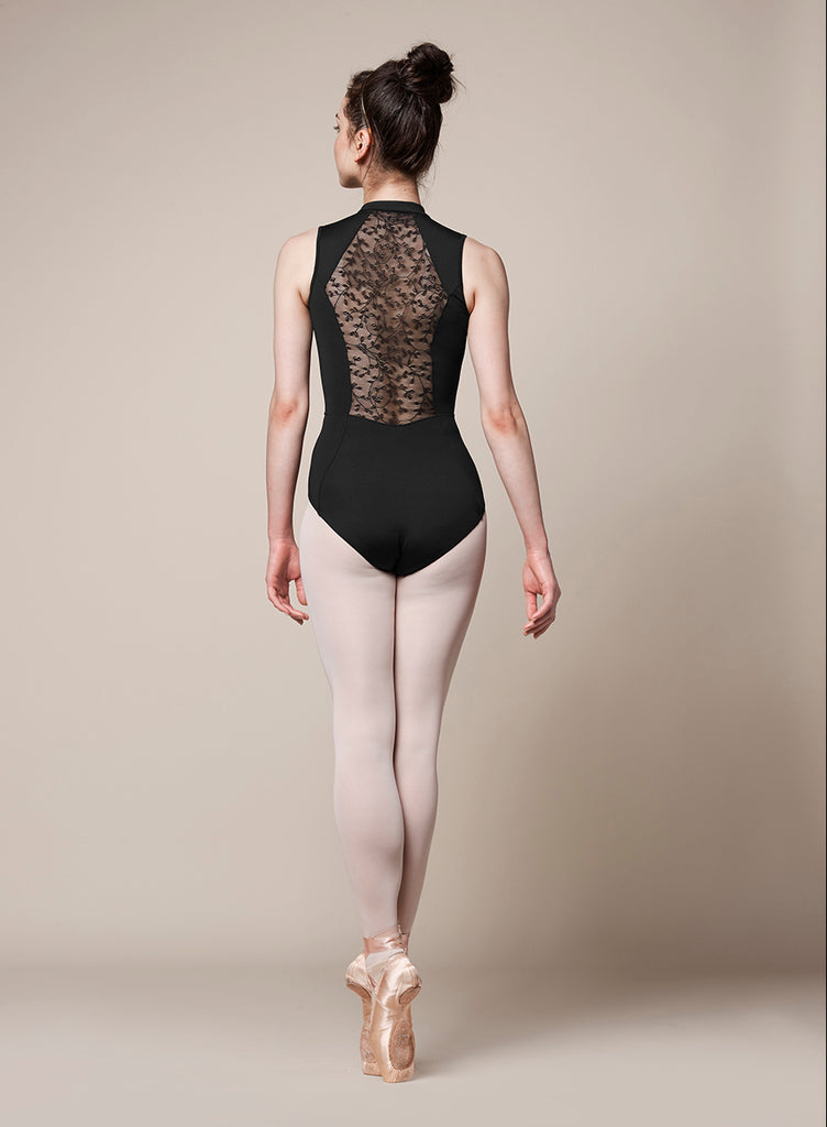 "Adult ""Olivina"" High Neck Tank Leotard M3071LM - XSmall & Large"