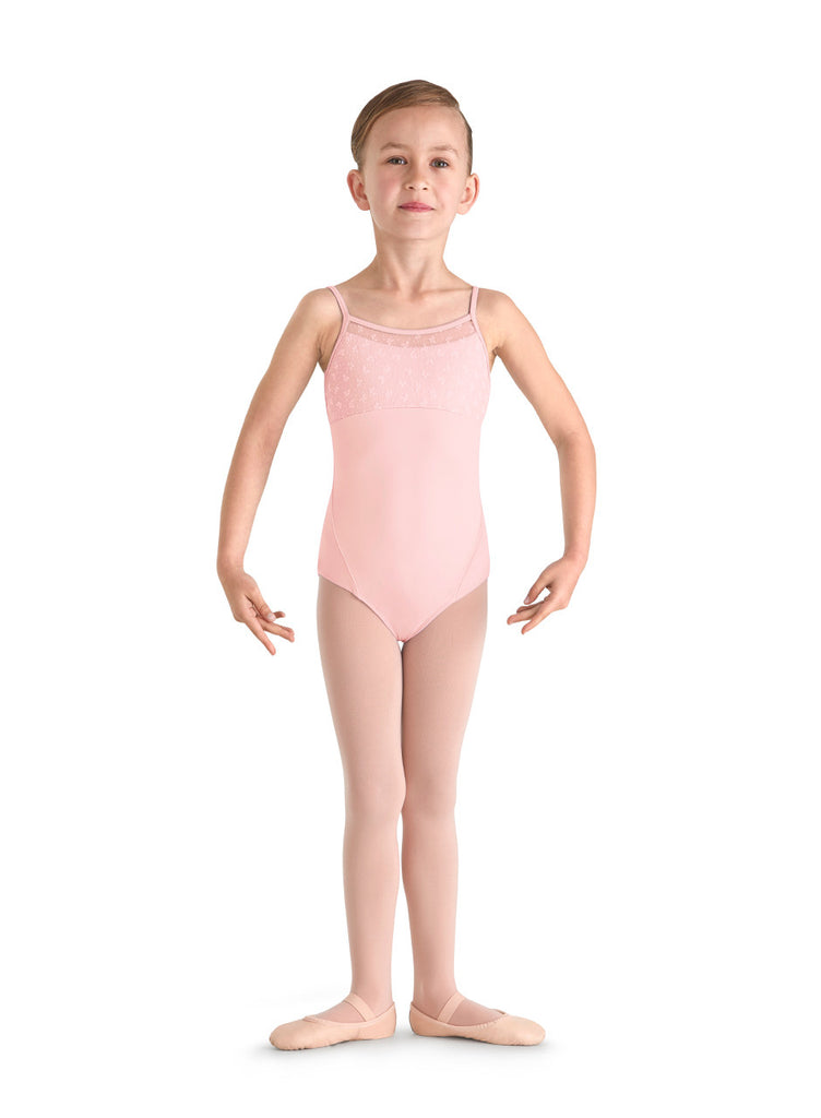 Cherry Blossom Leotard (Child) (Pink) - Dancer's Wardrobe
