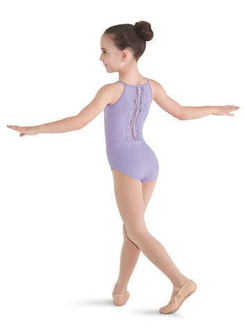 Lace Back Cami Leotard - Dancer's Wardrobe