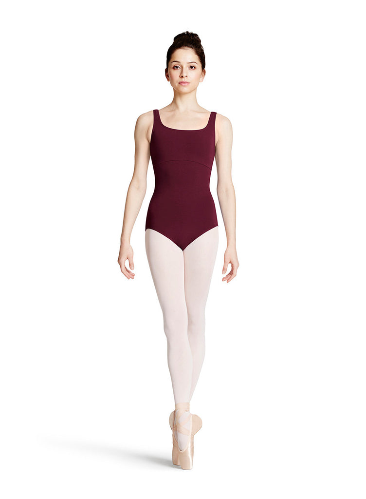 Ladies Tank Leotard (Burgundy) - Dancer's Wardrobe