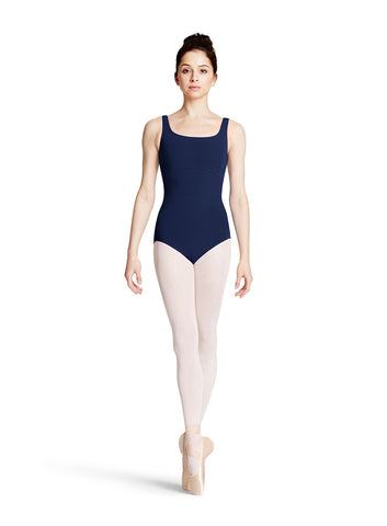 Ladies Tank Leotard (Navy) - Dancer's Wardrobe