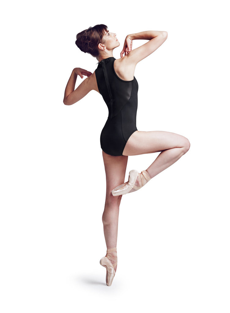 Braided High Neck Jozette Leotard - Dancer's Wardrobe