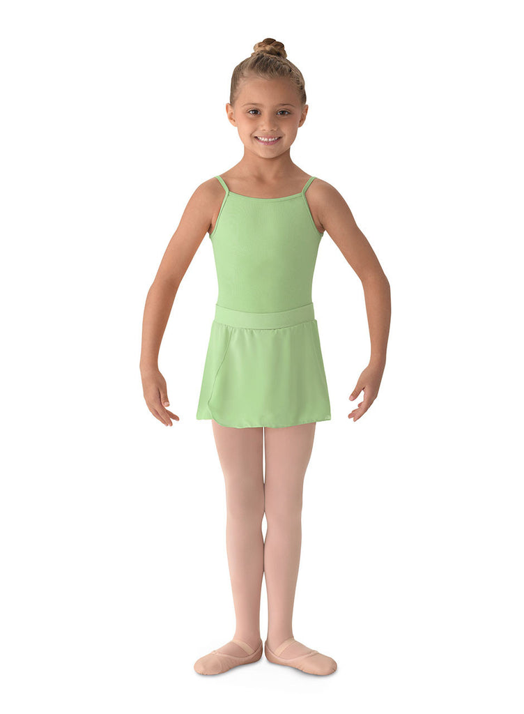 Child Georgette Mock Wrap Skirt MS12CH - Dancer's Wardrobe
