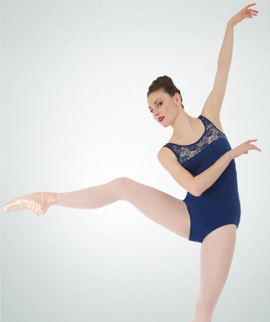 Tank Lace Leotard - Dancer's Wardrobe