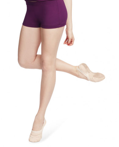 Adult Boy Cut Low Rise Short (Aubergine) - Dancer's Wardrobe