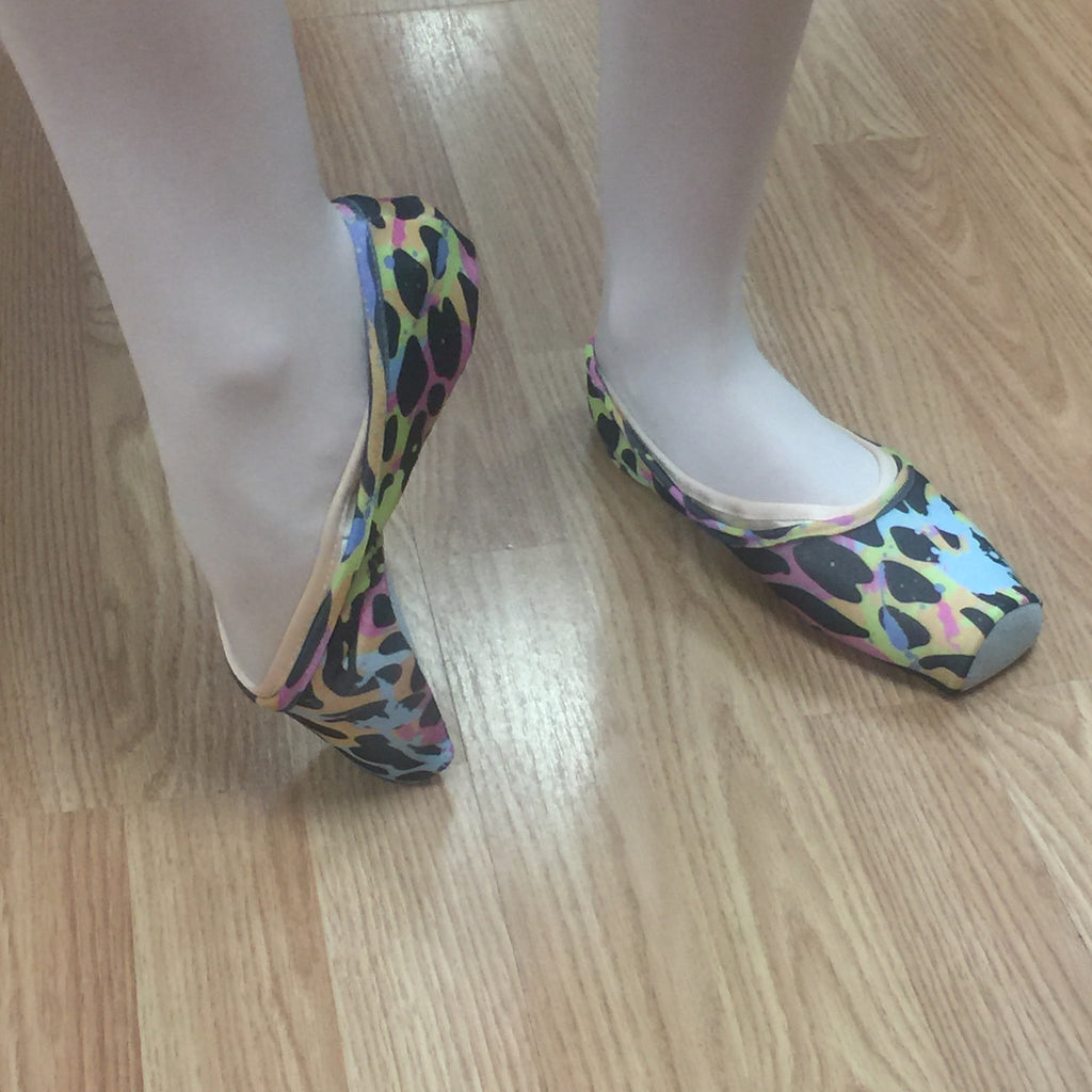 Pointe Shoe Cover (Multi-colored) - Dancer's Wardrobe