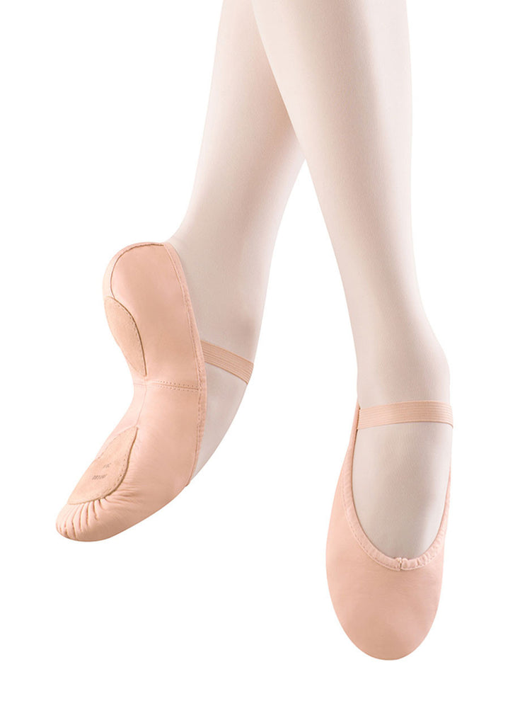 Child Leather Dansoft II Ballet Shoe Split Sole S0258G - Dancer's Wardrobe