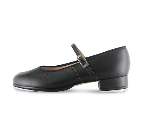 Adult Tap On Tap Shoe (Black) - Dancer's Wardrobe