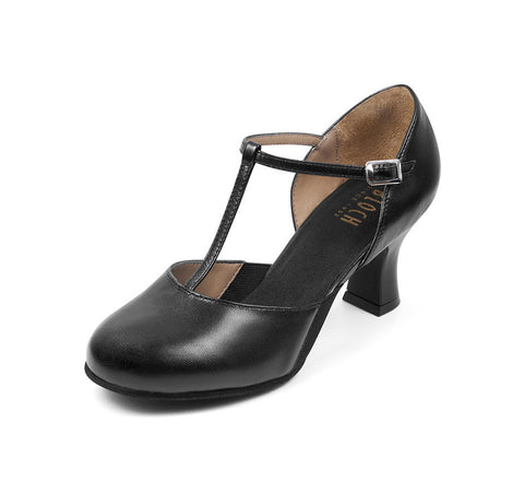 Split Flex Character Shoe (Black) - Dancer's Wardrobe