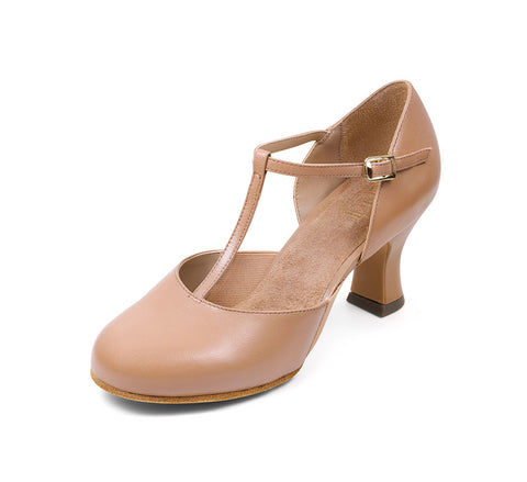 Split Flex Character Shoe (Tan) - Dancer's Wardrobe