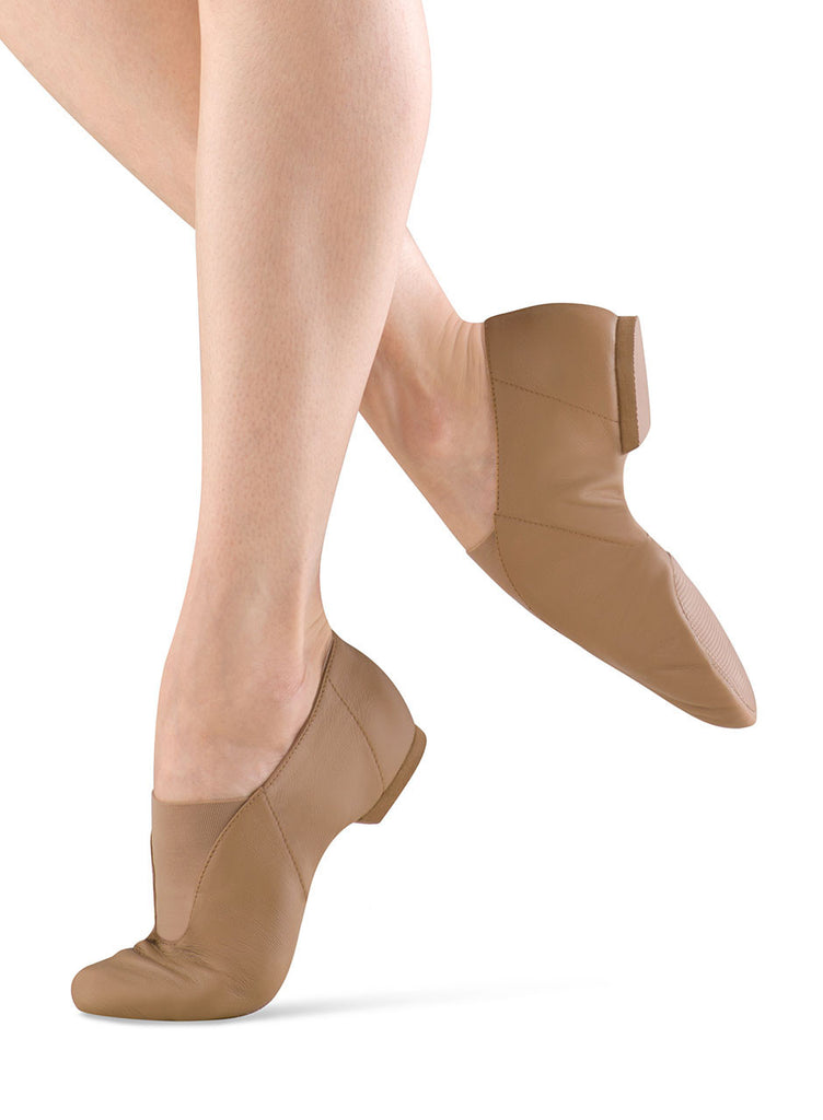Adult Super Jazz Shoe (Tan) S0401L - Dancer's Wardrobe