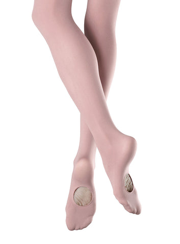 Adult Adaptatoe Tights (Pink) - Dancer's Wardrobe
