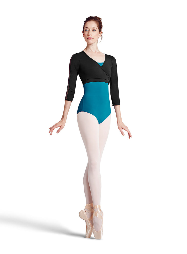 Courtier Wrap (Black) - Dancer's Wardrobe
