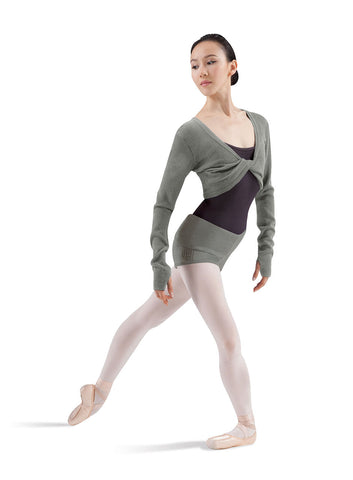 Knit Twist Front Top Knitwear - Dancer's Wardrobe