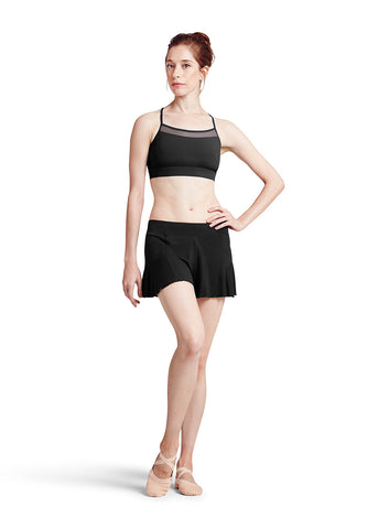 Duchess Crop Top (Black) - Dancer's Wardrobe