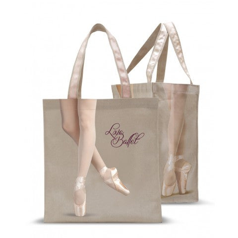 Pointe Tote Grey B114 - Dancer's Wardrobe
