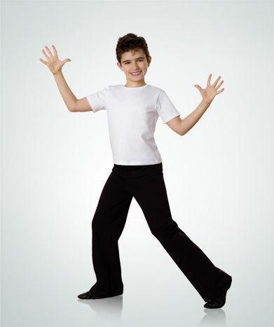 Child Boy Jazz Pants (Black) - Dancer's Wardrobe