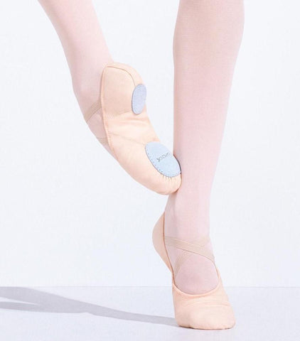 Adult Canvas Juliet Ballet Slipper 2028 Capezio -Sizes 4, 4.5 (Kids 2, 2.5) & 9-11