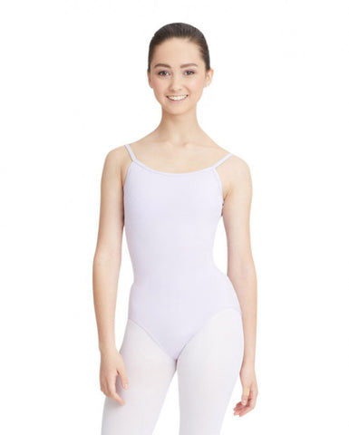 Adult Camisole Leotard with Adjustable Straps (Lavender) - Dancer's Wardrobe