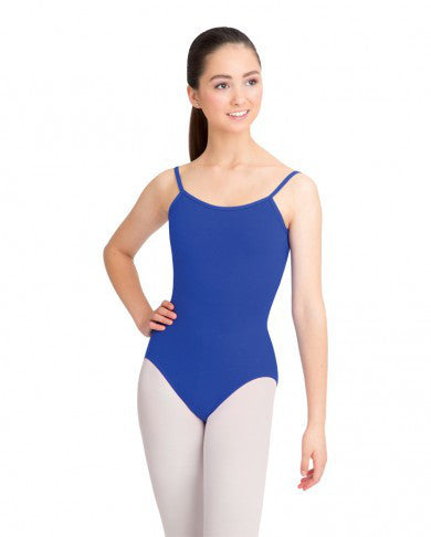 Adult Camisole Leotard with Adjustable Straps (Royal) - Dancer's Wardrobe
