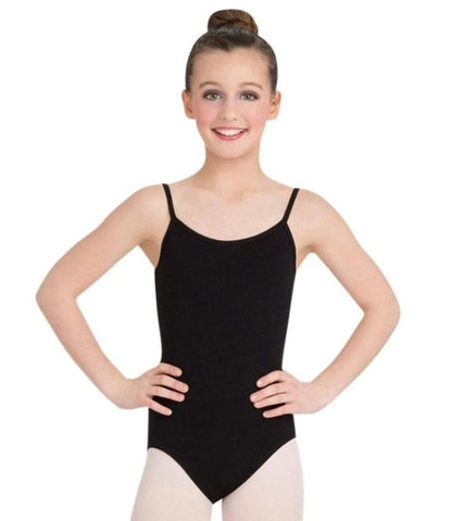 Childrens Camisole Leotard W/ Adjustable Straps CC100C (Garnet, Black, Royal Blue)