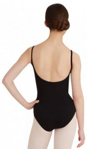 Adult Princess Camisole Leotard (Black) - Dancer's Wardrobe