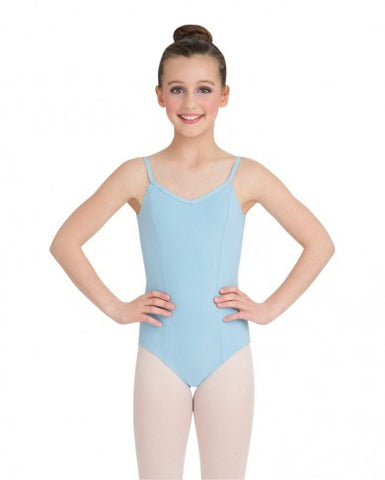 Child Princess Camisole Leotard (Light Blue) - Dancer's Wardrobe