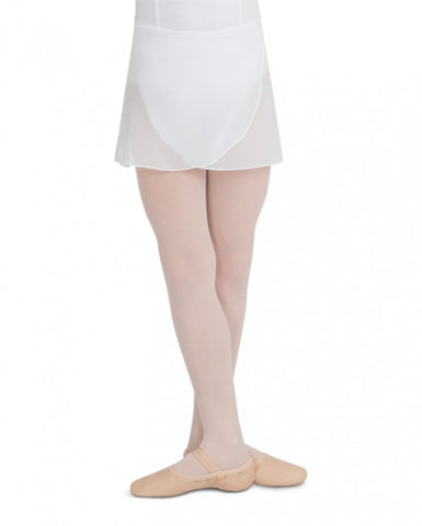 Chiffon Wrap Skirt (White) CC130 - Dancer's Wardrobe