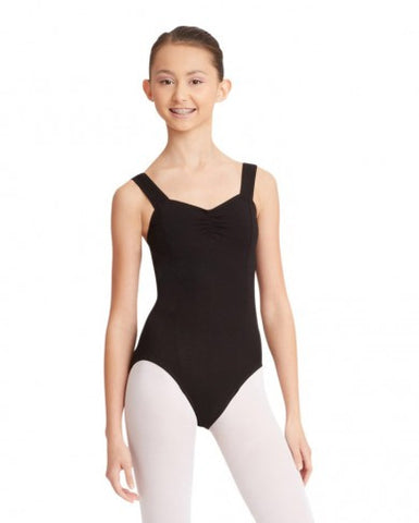 Princess Tank Leotard (Black) - Dancer's Wardrobe