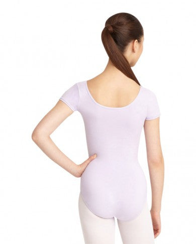 Adult Short Sleeve Leotard (Lavender) - Dancer's Wardrobe