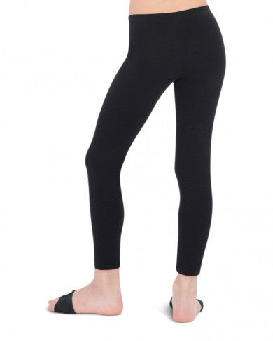 Child Low Rise Leggings (Black) - Dancer's Wardrobe