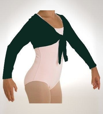 Crop Tie Front Knitwear - Dancer's Wardrobe