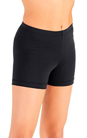 Child Elastic Waistband Shortso (Black) - Dancer's Wardrobe