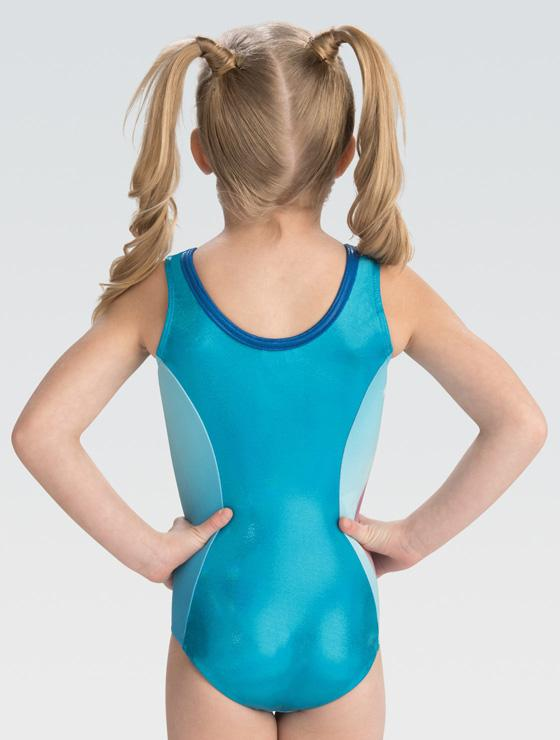 Anna and Elsa Ice Leotard DSY129