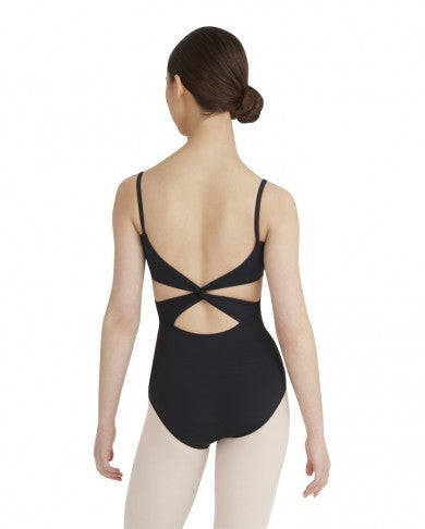 Cami Leotard with Twist Back - Dancer's Wardrobe