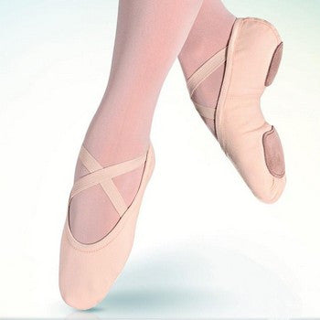 Adult All-Way Stretch Canvas Ballet Slipper (Light Pink) SD-16 - Dancer's Wardrobe