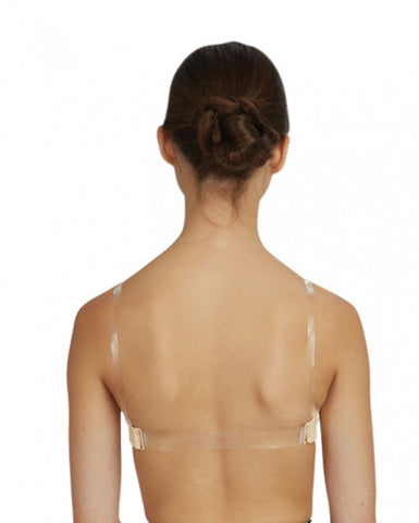 Clear Back Strap CLEAR m/l STRP2 - Dancer's Wardrobe