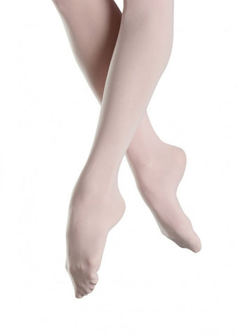 Bloch Child Tights Footed (Pink) T0921G - Dancer's Wardrobe
