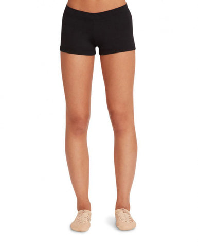 Adult Boy Cut Low Rise Short (Black) tb113 - Dancer's Wardrobe