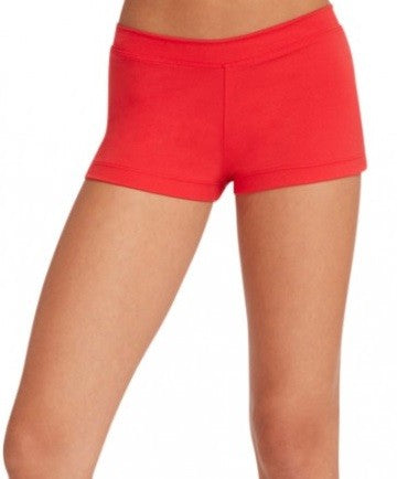 Boy Cut Low Rise Short TB113 - Red