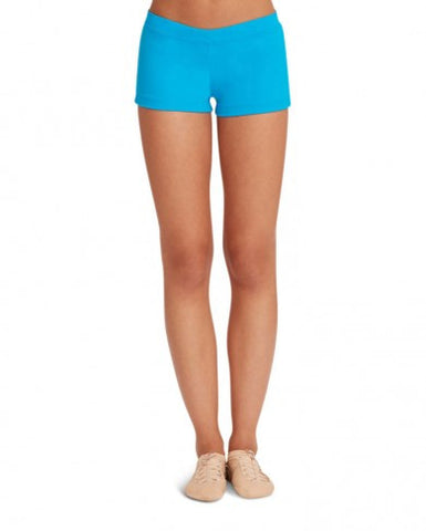 Adult Boy Cut Low Rise Short (Turquoise) tb113 - Dancer's Wardrobe