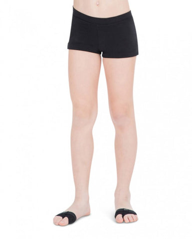 Child Boycut Shorts (Black) tb113c - Dancer's Wardrobe