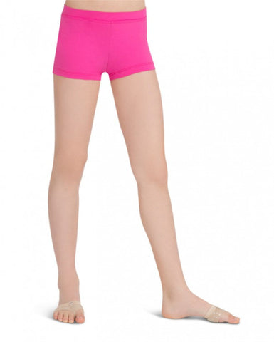 Child Boycut Shorts (Hot Pink) tb113c - Dancer's Wardrobe
