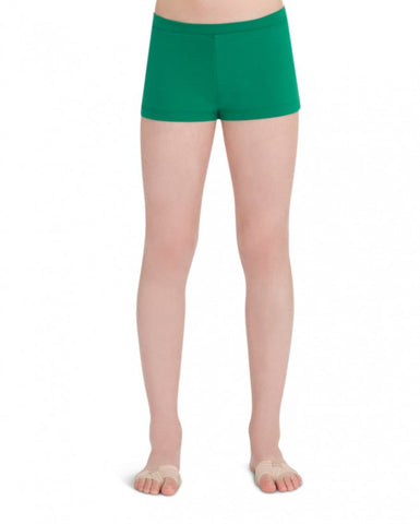 Child Boycut Shorts (Kelly Green) tb113c - Dancer's Wardrobe