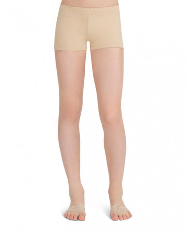 Child Boycut Shorts (Nude) tb113c - Dancer's Wardrobe
