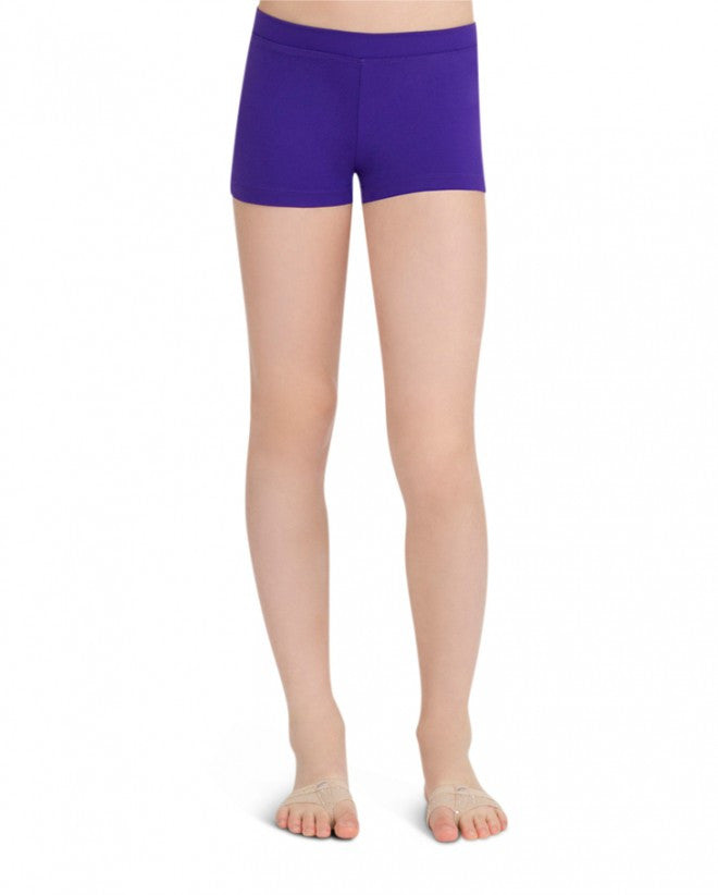 Child Boycut Shorts (Purple) tb113c - Dancer's Wardrobe